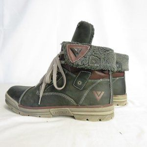 Venice Boots Men's  8.5 EU 41 Vegan Flip Top Ankle